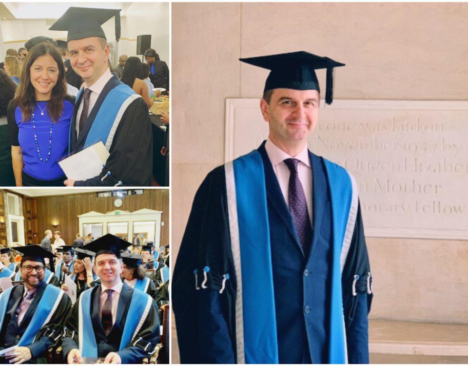 Dr. Nikos Christoforidis was awarded the Fellow of the Royal College (FRCOG)