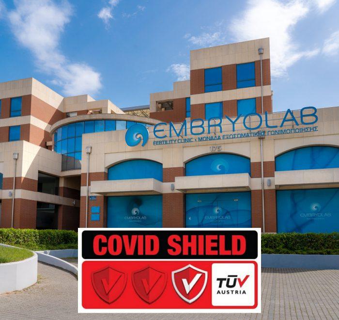 Embryolab Covid Shield
